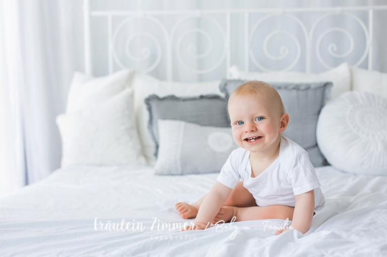Babyshooting mit 9 Monaten in Leipzig