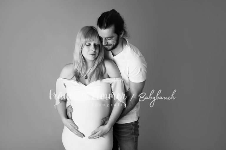 Babybauch-Fotoshooting in Leipzig