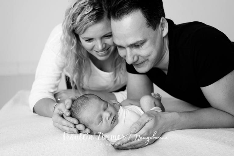 Neugeborenenfotoshooting in Leipzig